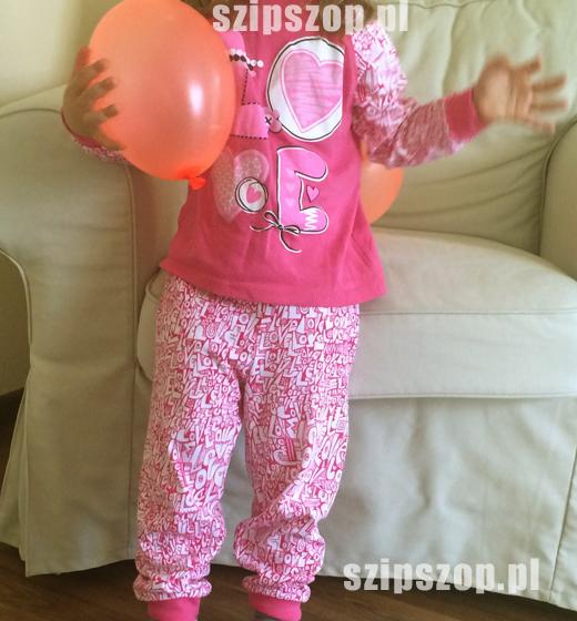 piżamka dziecięce dla dziewczynki
