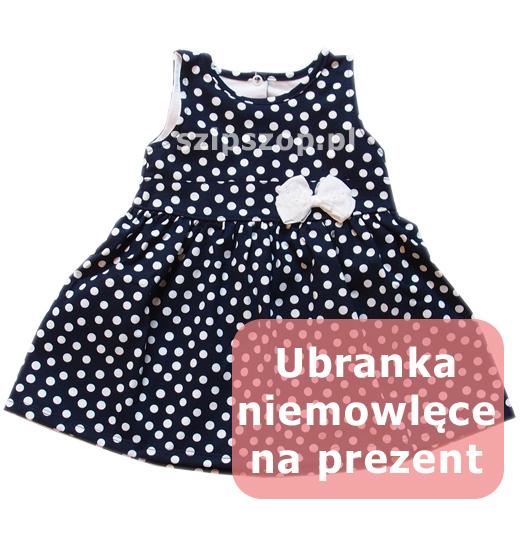 ubranka niemowlęce na prezent