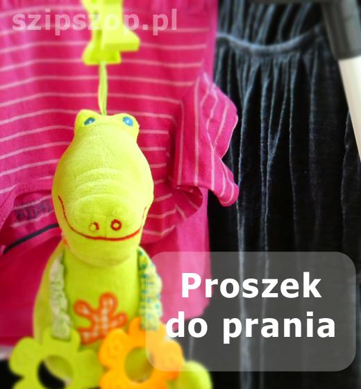 proszek do prania eko do ubranek dla niemowląt