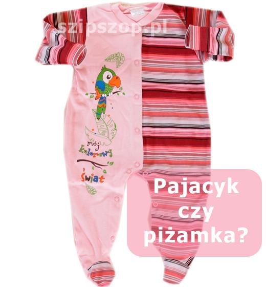 wygodny pajac niemowlęcy to ciuszek dla najmłodszych komfortowo zapinany na zatrzaski