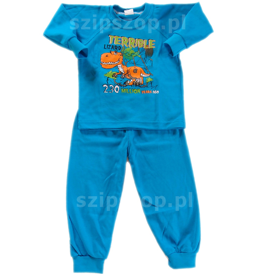 bardzo wygodna piżamka dla dzieci poza okresem niemowlęctwa