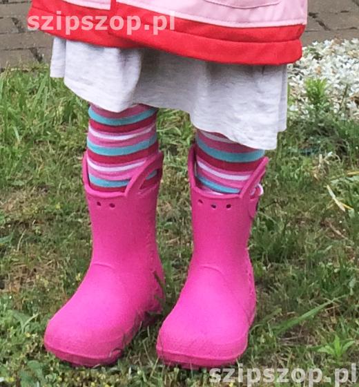 ubrania dla dzieci na czas deszczu i słoty