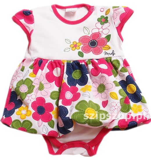 body sukienka dla niemowląt