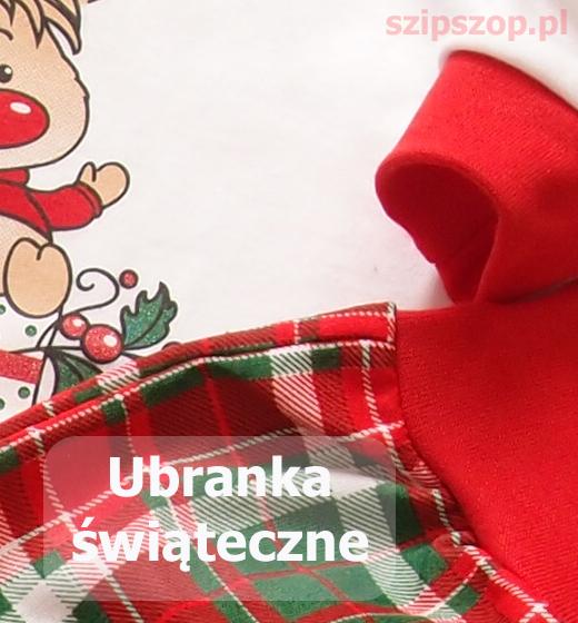 ciuszki niemowlęce świąteczne