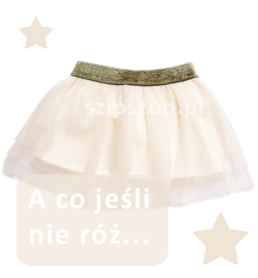 dziewczęca spódnica tiulowa