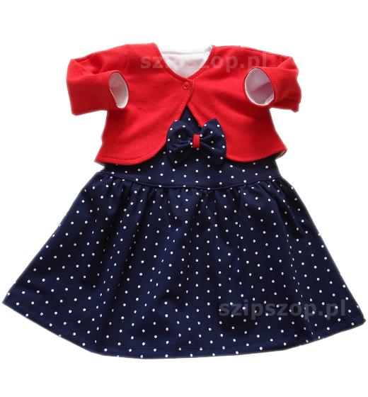 śliczna sukienka dla niemowląt