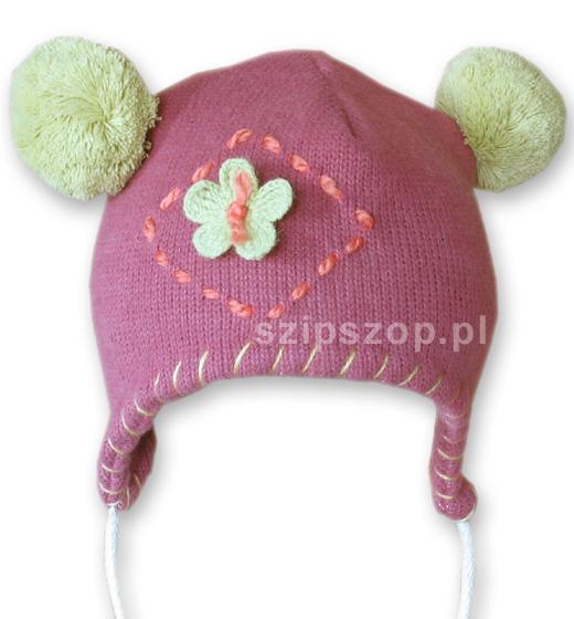 czapka dziewczęca