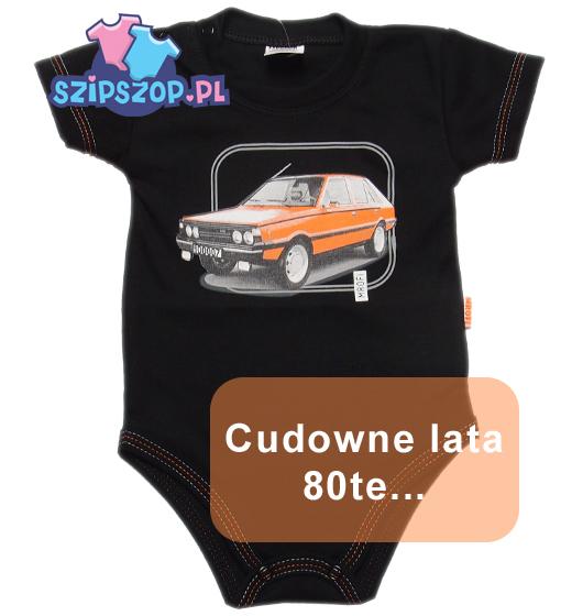 Ubranka dziecięce z autami