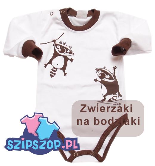 Ubranka niemowlęce ze zwierzątkami
