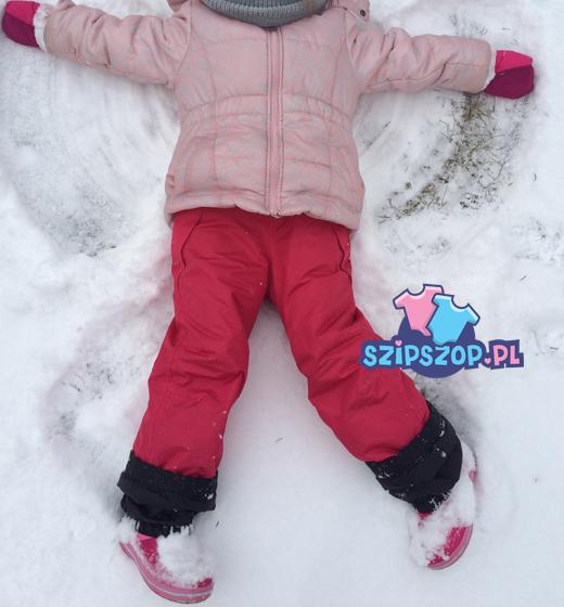 zimowe ubranka dziecięce na spacer