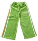 Spodnie dresowe welurowe dla dzieci z lampasami groszek Tiger One 86