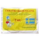 Ceratki higieniczne 3 sztuki w opakowaniu- na pieluszkę tetrowš, œwietne do nauki nocnikowania powyżej 8kg