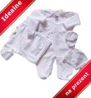 Wyprawka dla noworodka Owieczka biel 5 częœci 56