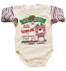 Body dla niemowlšt z napisami Tata udaje Greka, gdy œmietnik na wyrzucenie czeka 98