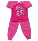 Piżama dla dzieci Missy różowa 104