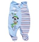 Œpiochy niemowlęce Bystrzak niebieskie z pieskiem 74