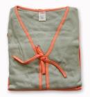 Piżamka 3 częœciowa Muzzy oliwka pomarańcz M
