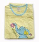 Piżamka Muzzy 34 żółta ze słonikiem S