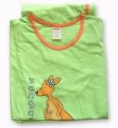 Piżamka Muzzy 34 zielona z Paniš Kangurzycš M
